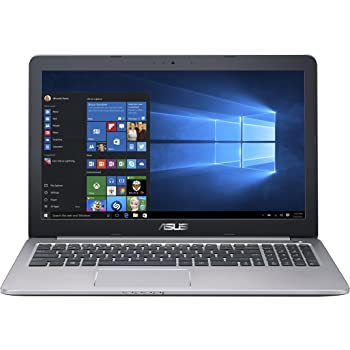 ASUS K501UX 15.6-inch Gaming Laptop (Intel Core i7 Processor, NVIDIA GTX 950M, 8GB RAM, 256GB SSD Hard Drive, Windows 10 (64 bit)), Black/Silver Metal
