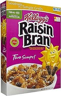 ケロッグ レーズンブラン シリアル 18.7 オンス (2 パック) Kellogg's Raisin Bran Cereal 18.7 oz (2 Pack)