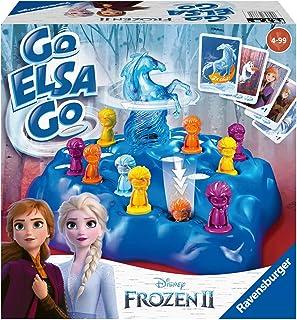 Ravensburger 20425 Frost 2 Go Elsa, Go! Interaktiv Spel, Flerfärgad
