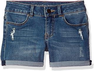 Calvin Klein Girls' Little Denim Short