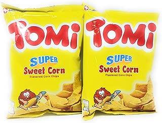 Tomi Super Sweet Corn Chips, 3.88oz (110g), 2 Pack