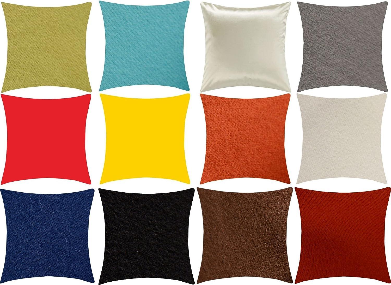 PASSENGER PIGEON Modern Luxury Velvet Soft Fabric Rainbow color Suqare Decorative Throw Pillow Case Cushion Cover 18 W x 18 L, White