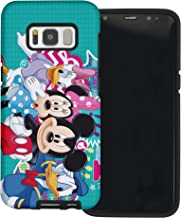 Galaxy S7 Case, Cute Layered Hybrid [TPU + PC] Bumper Cover for Galaxy S7 (5.1inch) - Cartoon Family
