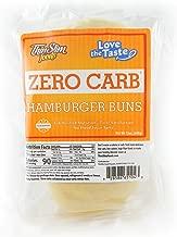 ThinSlim Foods 90 Calorie, 2g Net Carb, Love The Taste Low Carb Hamburger Buns