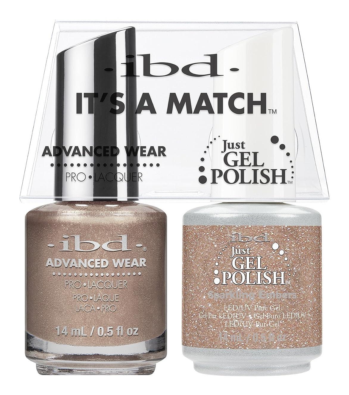 慣れている雄弁な自分ibd - It's A Match -Duo Pack- Sparkling Embers - 14 mL / 0.5 oz Each