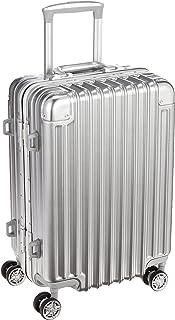 [シフレ] ハードフレームスーツケース 小型 Sサイズ 頑丈 機内持ち込み可能 5年保証付き Trident トライデント TRI1030-48 保証付 33L 48 cm 3.8kg 1年保証付き シルバー