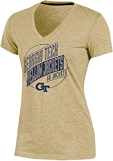 Champion Womens NCAA Women's Success Short Sleeve V-Neck T-Shirt CBJCH0KAMZ-1