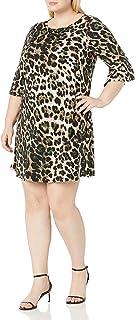 Jessica Howard Women's A-line Dress (Regular and Plus)