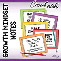 GROWTH MINDSET NOTES for Students in Grades 5-12 (Crosshatch)
