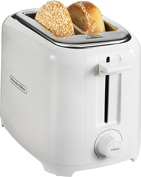 Proctor Silex 2-Slice Extra-Wide Slot Toaster with Shade Selector