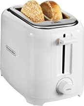 Proctor Silex 2-Slice Extra-Wide Slot Toaster with Shade Selector, Cool Wall, Toast Boost, Slide-Out Crumb Tray, Auto-Shutoff and Cancel Button, White (22216)