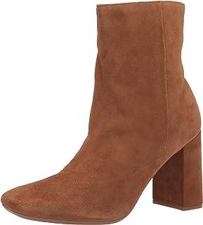 حذاء برقبة للكاحل Sardo9X9 للنساء من Nine West بني متوسط، 6. 5