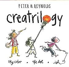 Peter Reynolds Creatrilogy Box Set (Dot, Ish, Sky Color)