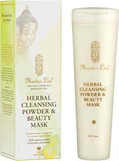 Master Lin Herbal Face Cleansing Powder & Beauty Mask, 1er Pack (1 x 40 g)