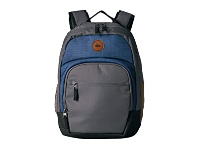 Quiksilver Schoolie Cooler II Backpack (Fjord Blue Heather) Backpack Bags