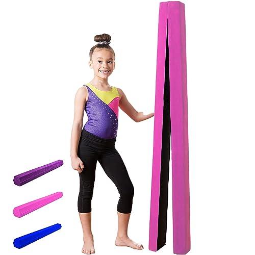 3b9ddb19c96e4 XTEK Gym 10ft Gymnastics Balance Beam  Folding Floor Gymnastics Equipment  for Kids