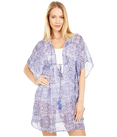 Jessica Simpson Sweet Sunday Border Cover-Up (Nile Multi) Women