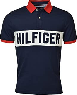 Tommy Hilfiger Men's Custom Fit Logo Polo Shirt