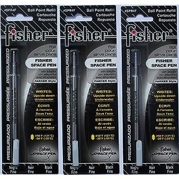Fisher Space Pen Refill #SPR4 #PR4 Medium Ball Point Black Ink Parker Style