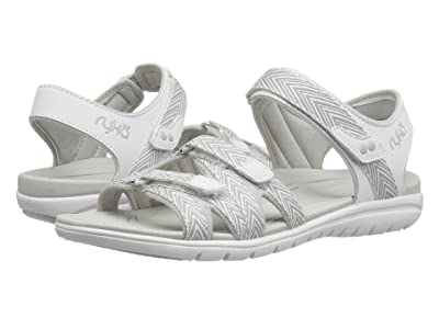 Ryka Savannah (White/Summer Grey) Women