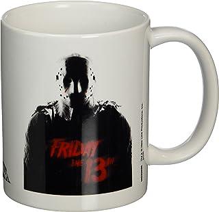 Friday the 13th Pyramid International (Jason Voorhees) Official Boxed Ceramic Coffee/Tea Mug, Multi-Colour, 11 oz/315 ml