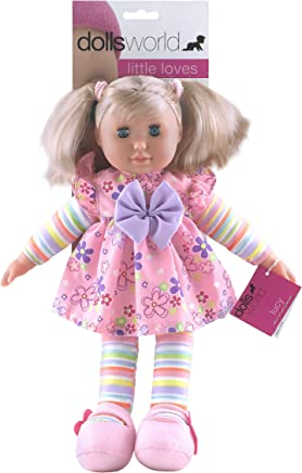 Dolls World Lucy 36cm (14``) soft bodied doll with hair
