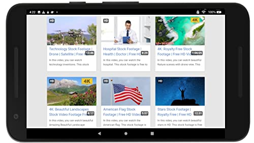 『App Videos for YoutTube - No Ads』の3枚目の画像