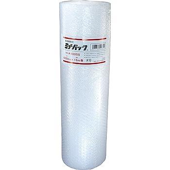【 日本製 】 酒井化学 業務用 緩衝材 #400SS 600mm×10m ロール ミナパック 紙管なし 【 高品質ポリエチレン製 エアキャップ 】 産業用 ( 業務用エアパック )