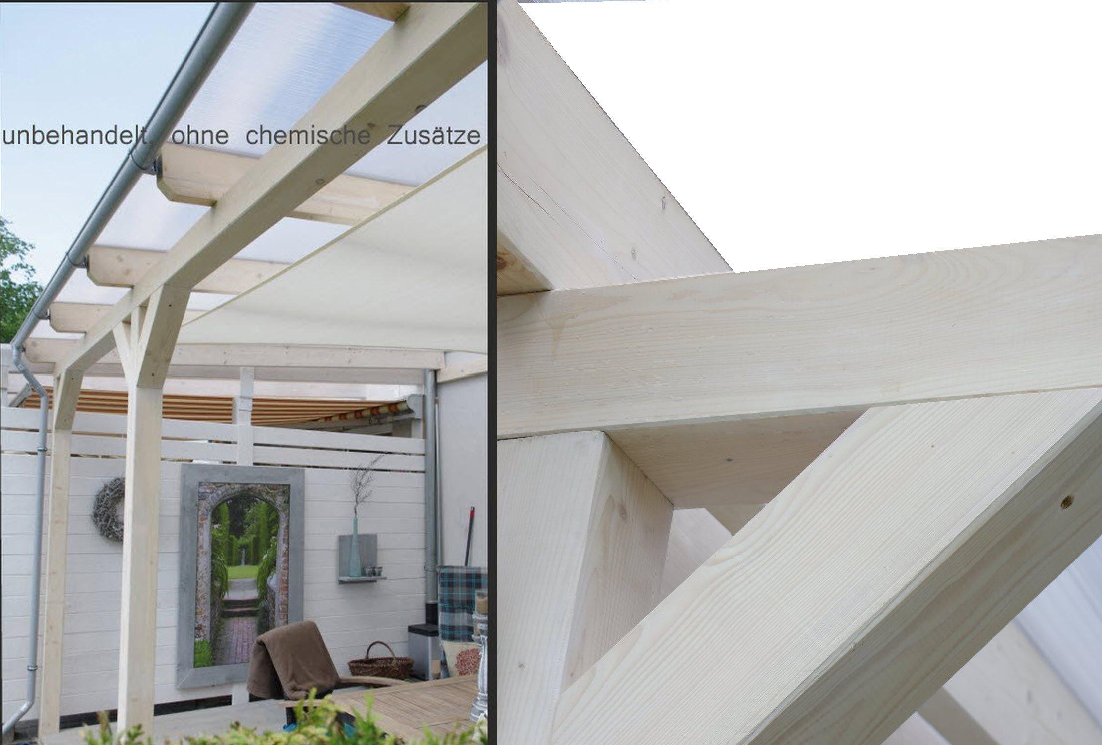 solidbasic con VSG Cristal 300 x 200 cm – prikker-überdachungen ...