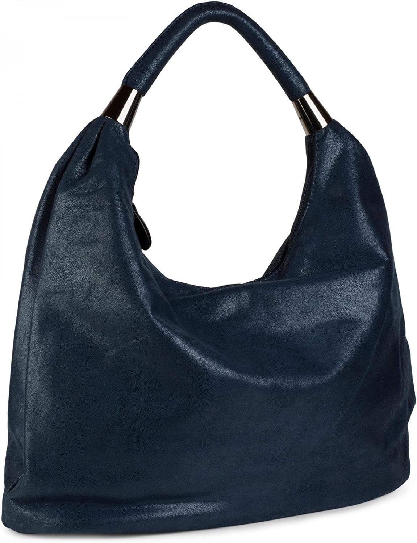 StyleBREAKER Handtasche, Beuteltasche im Vintage Design, Hobo Bag, Schultertasche, Tragetasche, Tragetasche, Tragetasche, Damen 02012050 B01AK9DTYY  Wert afef1e