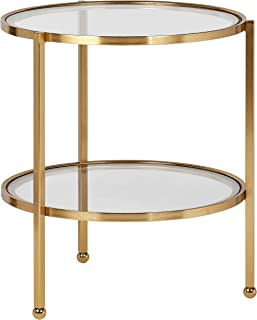 Best small glass console table Reviews