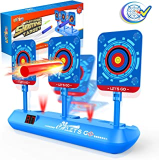 Cool Toys for 3-12 Year Old Boys, AutoElectronic Shooting Target for Boys Toys Best Gifts for 5-12 Yeas Old Kids Toy Nerf...