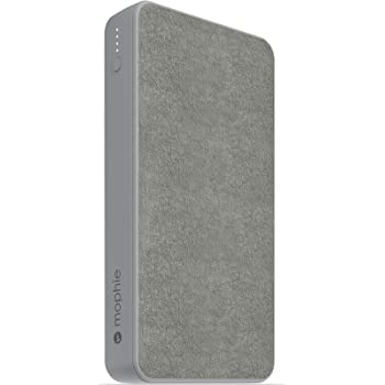 mophie powerstation XL - Universal Battery - Made for Smartphones, Tablets, and Other USB-C and USB-A Compatible Devices (15,000mAh) - Grey
