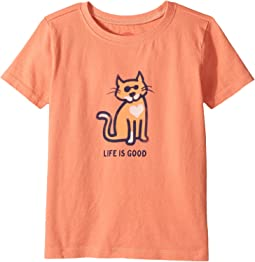 Life is Good Kids - Cat Love Crusher Tee (Toddler)