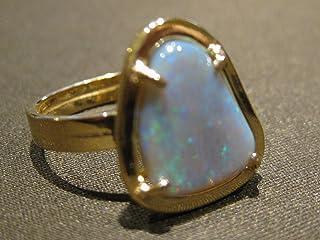 anillo ópalo Oro 750%