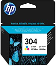 HP N9K05AE 304 Original Ink Cartridge Tri-Colour (Cyan, Magenta, Yellow), Pack of 1