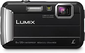 PANASONIC LUMIX Waterproof Digital Camera Underwater Camcorder with Optical Image Stabilizer, Time Lapse, Torch Light and ...