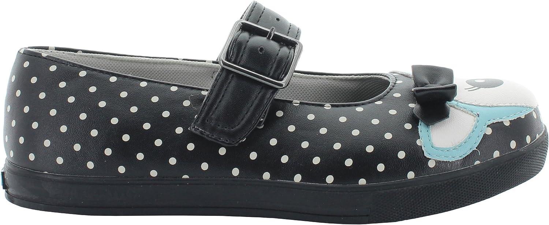 T.U.K. Mary Jane Sneaker DEER PLIMMIES A8293L black-bluee EU 36