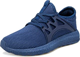Boy's Girl's Lightweight Breathable Sneakers Athletic...