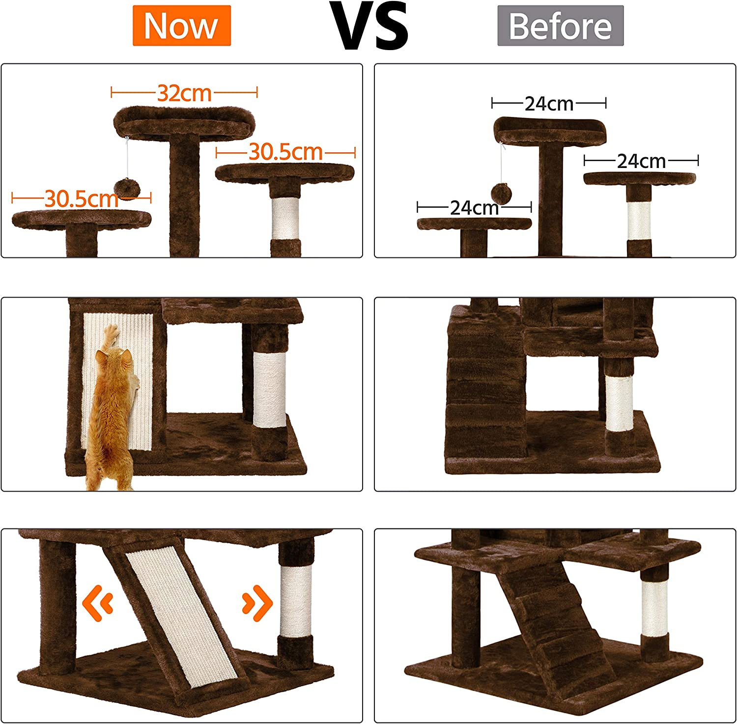 gaixample.org costoffs 137cm Multi-functional Cat Scratching Posts ...