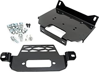 Winch Mount Plate Bracket for Polaris 15-18 RZR900&14-18 RZR 1000&General 101220