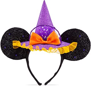 Disney Minnie Mouse Witch Ear Headband for Kids Multi