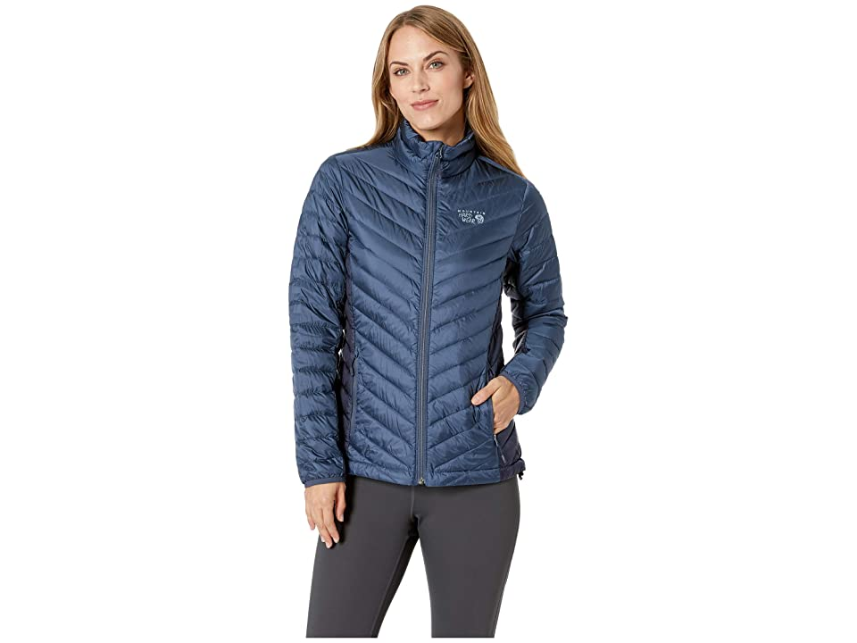 Mountain Hardwear Micro Ratio Down Jacket (Zinc) Women