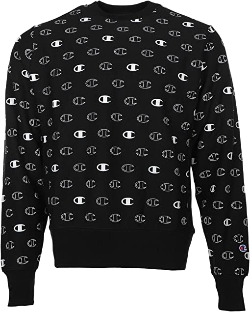 C Logo Spaced Black