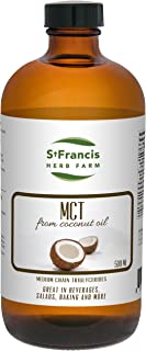 St Francis Herb Farm MCT Oil, 16.9 Oz