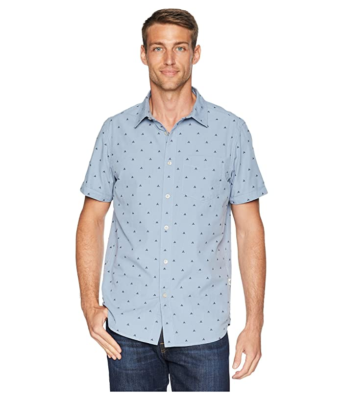 bc6cb2510 Short Sleeve Bay Trail Jacquard Shirt