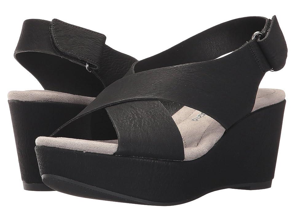 Dirty Laundry DL Daydream Wedge Sandal (Black) Women