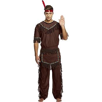 Henbrandt - Disfraz de india para hombre (U36109): Amazon.es ...