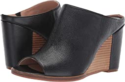 Black Grainy Goat Leather