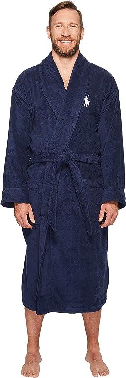Big Velour Kimono Robe